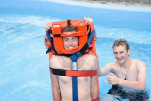 Lifeguard training, Alpine Springs, Tekapo