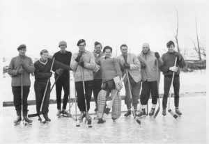 1962(64)ish Bull Tahr Hockey Team