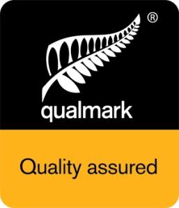 Qualmark logo for Alpine Springs