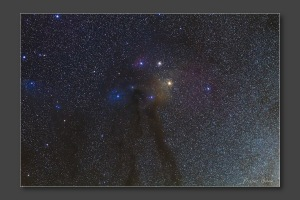 Reflected Nebula around Antares - Photography by Fraser Gunn