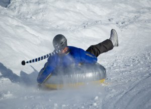 Snow tubing at Alpine Springs