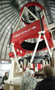 MOA2 - the largest telescope in the world dedicated to microlensing observations.