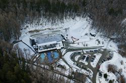 Winter at Alpine Springs