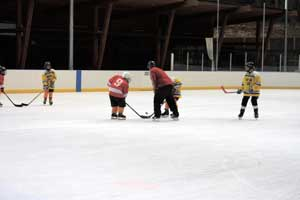 Face off at Karl's Cup Ice Hockey