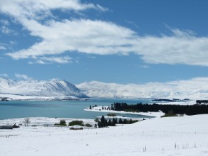 Tekapo in Snow