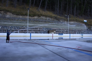 Making Ice on the Rink