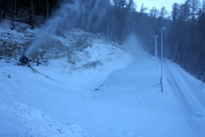 Making Snow in Tekapo